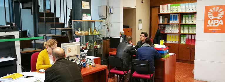 UPA Jaén vuelve a ser la primera Organización Profesional Agraria de Andalucía en tramitación de ayudas PAC con 10.440 expedientes