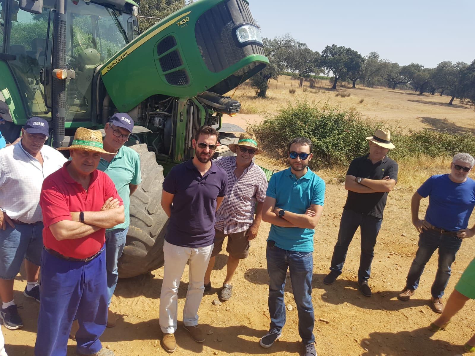 UPA-UCE Extremadura apuesta por reducir las emisiones de gases contaminantes en maquinaria agrícola