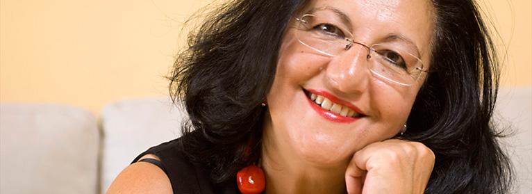 La escritora Inmaculada Chacón, premio Literatura 2017 de la Fundación de Estudios Rurales